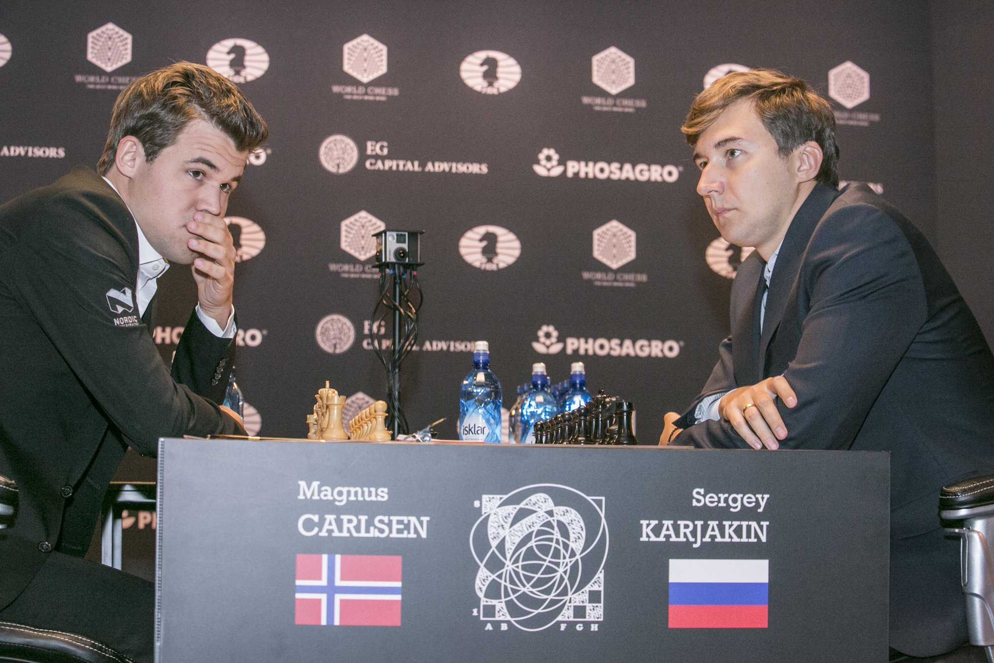 Carlsen – Karjakin, Game twelve
