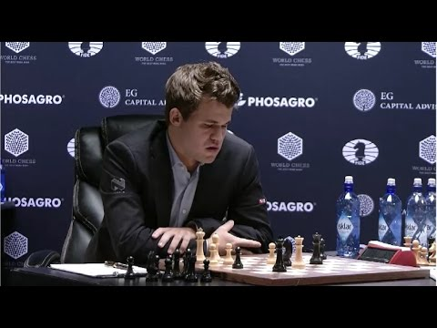 Carlsen – Karjakin, Game eight