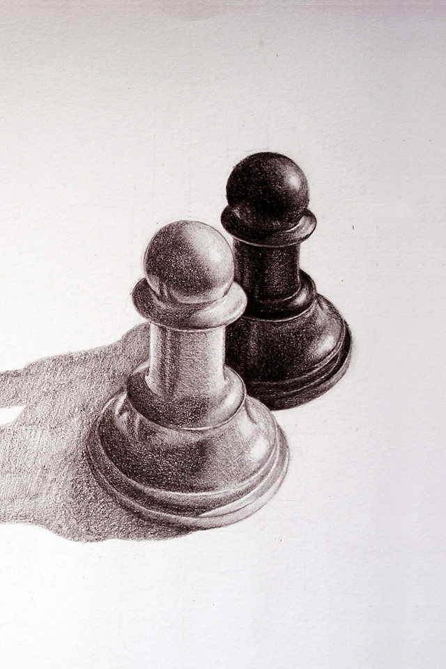 pencil-drawn-pawns-chess-iphone-wallpaper-by-bgiormova