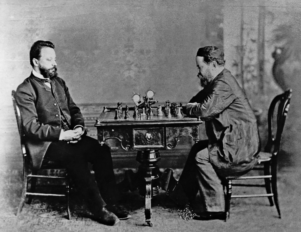 Steinitz Chigorin World Championship Rematch 1892