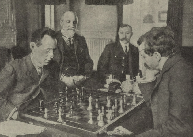 Lasker – Janowsky World Championship match 1910