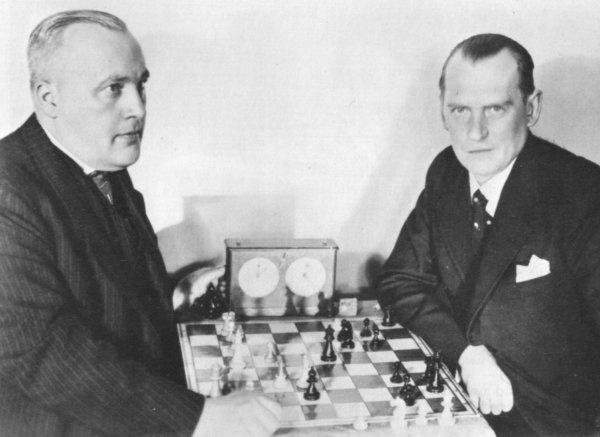 Alekhine – Bogoljubow World Championship 1934