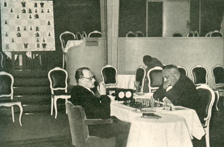 Alekhine – Bogoljubow World Championship Match 1929